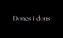 dones i dons